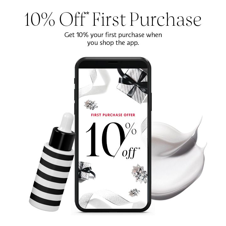 10% off first purchase offer