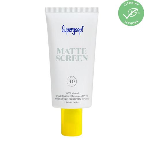 Matte Screen 100% Mineral Broad Spectrum Sunscreen Spf 40