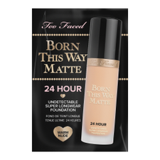Born This Way Matte 24 Hour Long Wear Foundation   Warm Nude (1ml)