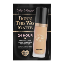 Born This Way Matte 24 Hour Long Wear Foundation   Natural Beige (1ml)