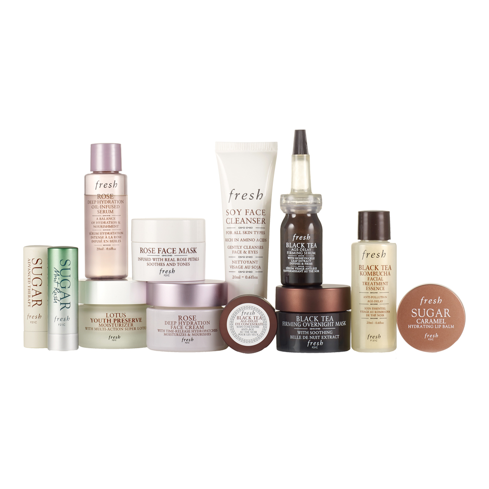 Contents: FRESH 12 Days of Beauty Advent Calendar 2020